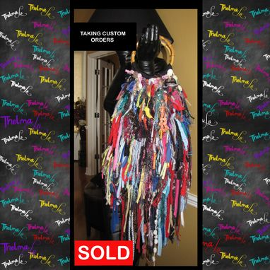 Custom Made Hippie Fringe Handbag, Ultra Fringe, One Of A Kind ,Custom Made, Purse ,Tote,Multi Bright Colored