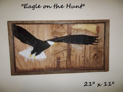 "Custom Made ""Eagle On The Hunt"""