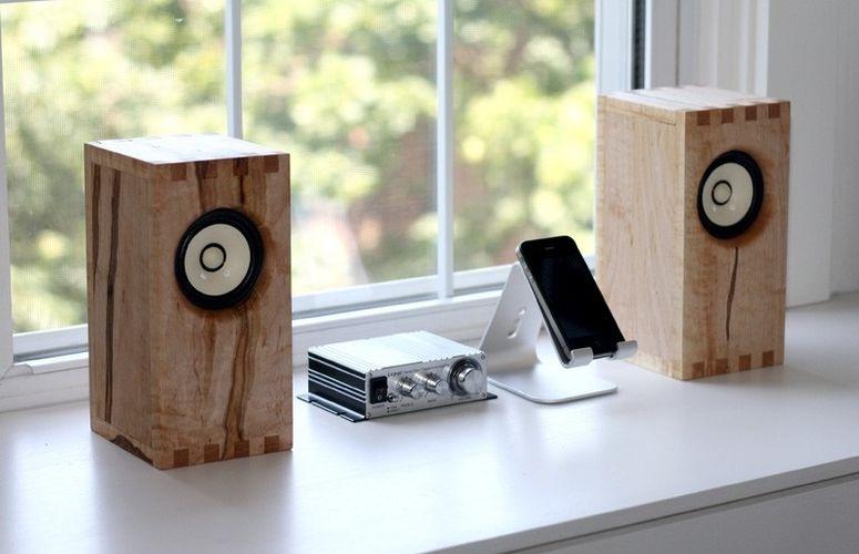 Custom Sparrow Bookshelf Speakers By Bekerwerks Design