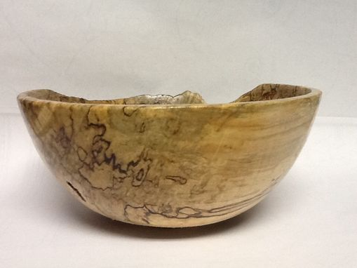 Custom Made Spalted Maple Bowl