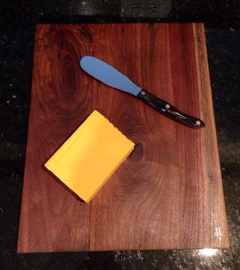 Custom Made Reclaimed Black Walnut Cutting Board