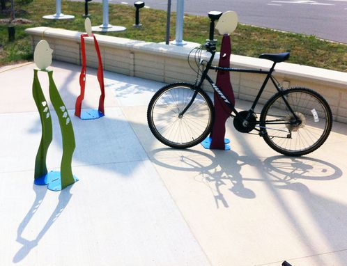 Custom Made People Bike Racks