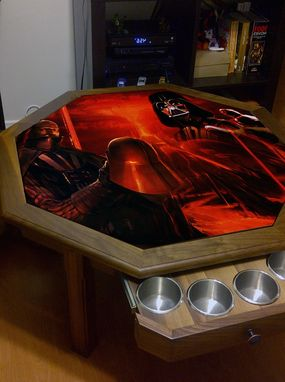 Custom Made Star Wars Coffe Table!