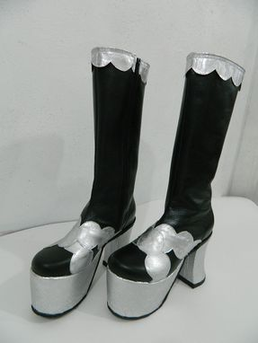 Custom Made Woman Platform Glam Rock Boots