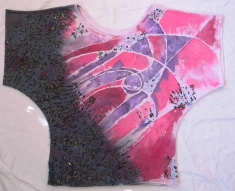 Custom Made Splatter Lace Dolman Tee