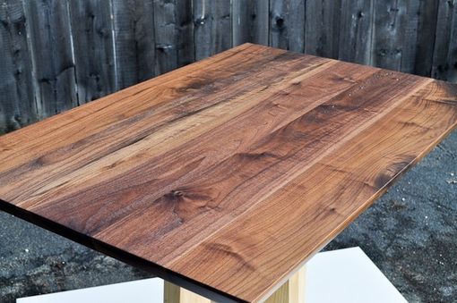 Custom Made Walnut Breakfast Table