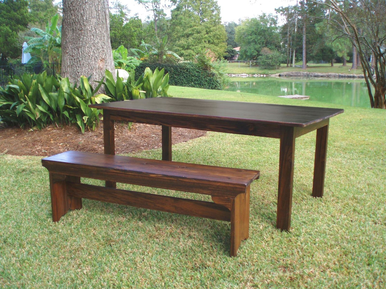 Hand Crafted Reclaimed Wood Atchafalaya Dining Table