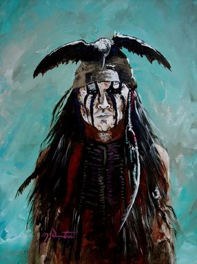 Custom Made Native American Paintings.