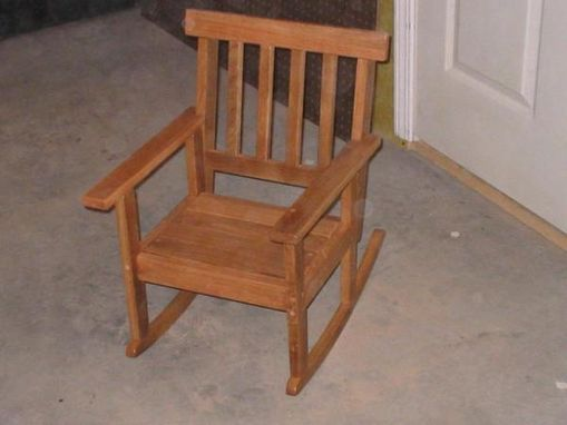 Custom Made Child's Rocking Chair