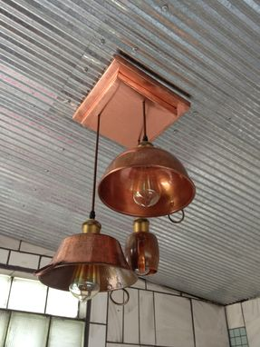 Custom Made Copper Light