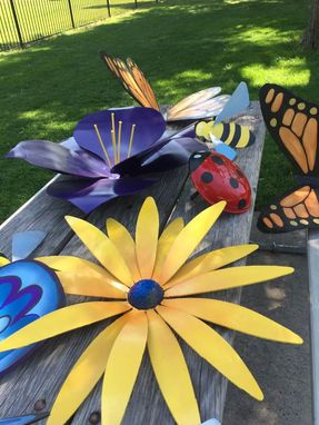 Custom Made Butterflys, Flowers, Bugs Etc.