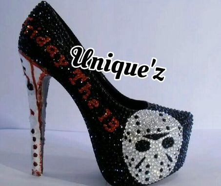 Custom Made Friday The 13th Heels ( 3d Jason Pumps)