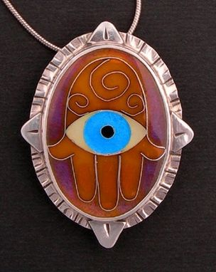 Custom Made Evil Eye Hamsah Necklace