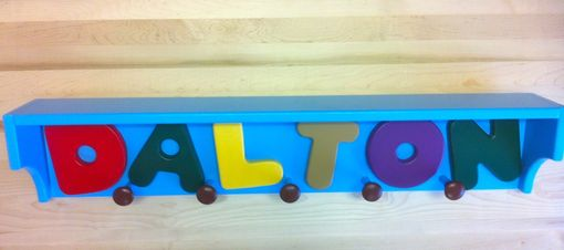 Custom Made Kids Coat Racks
