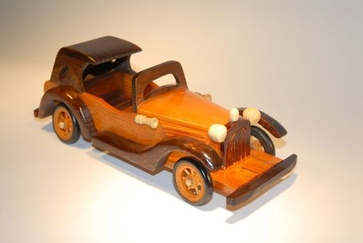 Custom Made Handmade Wood Car Home Decor