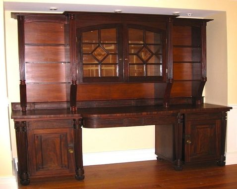 Custom Made Gothic Revival Sideboard