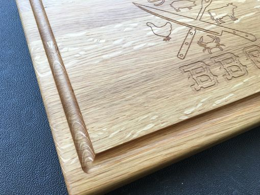 Custom Made White Oak Cutting Board, Custom Size