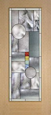 Custom Made Stock Sized Stained Glass Door Mission/Prairie