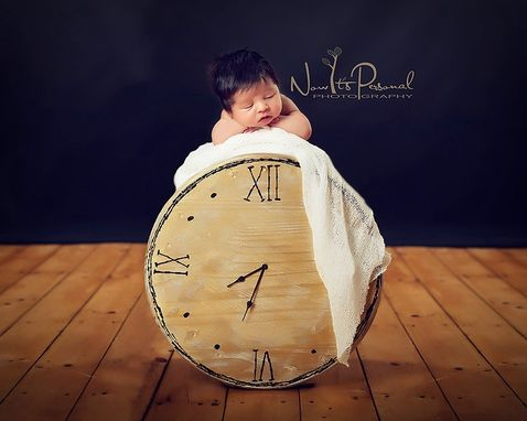 Custom Made New Original Clock Photography Prop