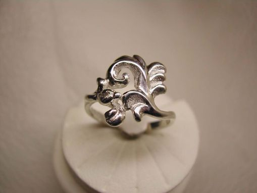 Custom Made Little Rosebud Ring