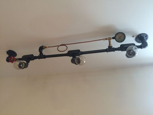 Custom Made Industrial Design Pipe Lighting