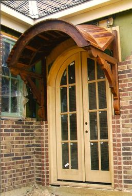 Custom Made Reclaimed Western Red Cedar Entry