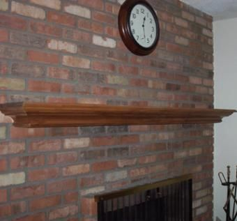 Custom Made King George Oak Fireplace Mantel