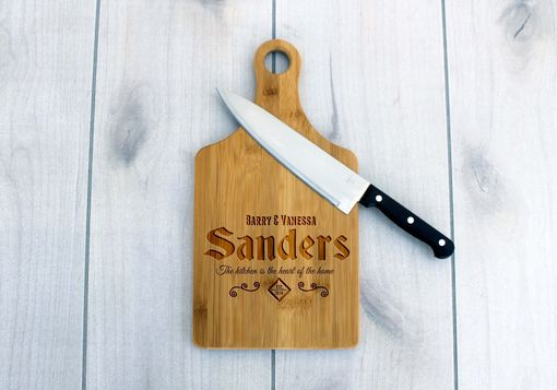 Custom Made Personalized Paddle Board -- Cb-Pad-Sanders