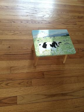 Custom Made Cow Stool