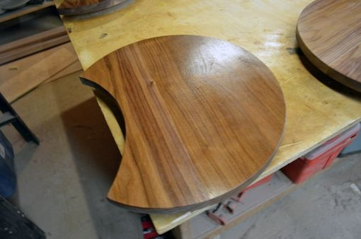 Custom Made New Walnut Tops For Stacking Tables