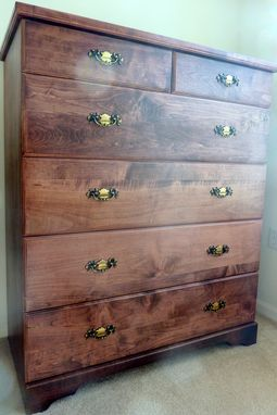 Custom Made Maple Dresser