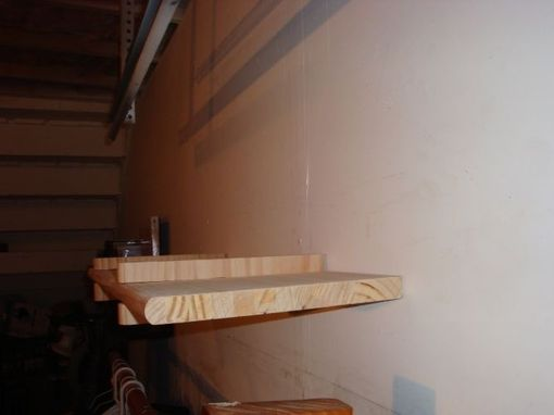 Custom Made Floating Wall Shelf (Pine)