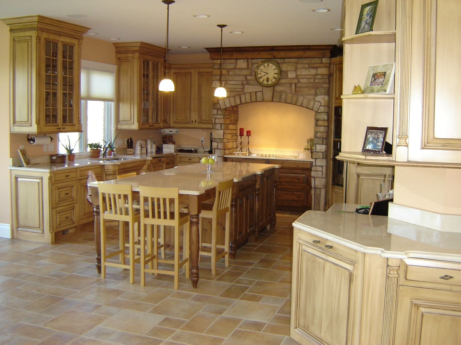 Custom Made Tuscan Kitchen By Custom Wood Creations