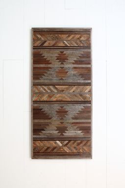 Custom Made Wood Wall Art, Made Of Old Barn Wood. 60