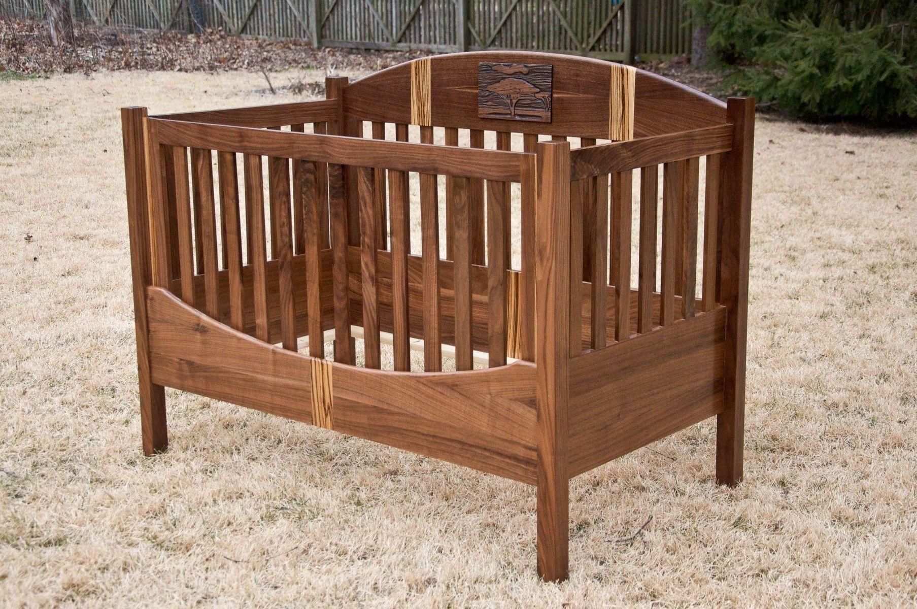 Custom Acacia Tree Crib By Drop Tine Design Custommade Com
