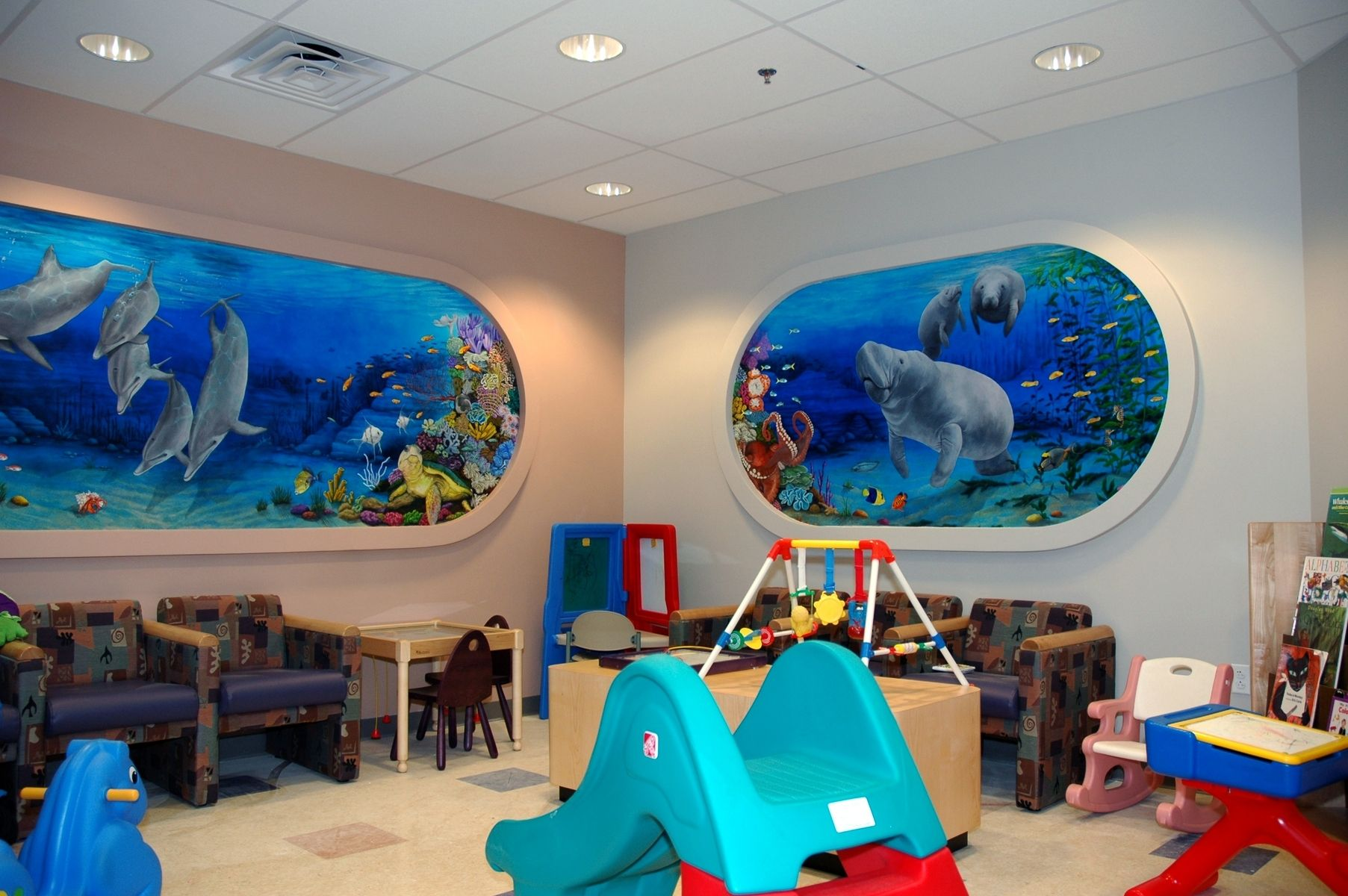 Custom Summerlin Hospital Children S Ward Mural By The
