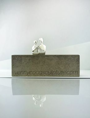 Custom Made Caress In Silver Plate, 25th Wedding Anniversary