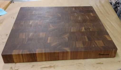Custom Made Walnut End Grain Cutting Board