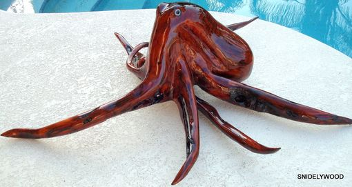 Custom Made Red Cedar Stump Octopus