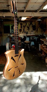 Custom Made The Carla Spider (Electric Resonator Guitar)