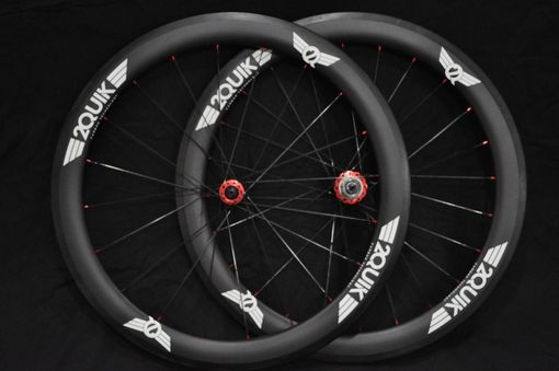Custom Made 56mm Carbon Road Wheelset