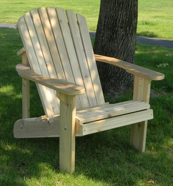 Custom Made Big And Tall Adirondack Chair