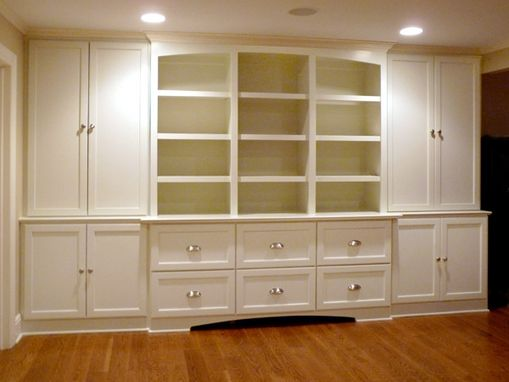 Custom Made Built-In Multi-Purpose Entertainment Center