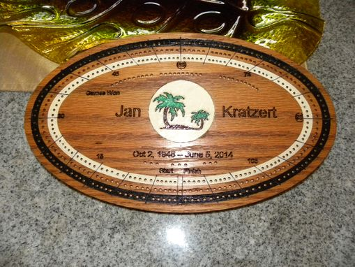 Custom Made Cribbage Board