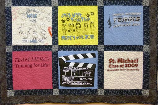 Custom Made Custom Made T-Shirt Quilt