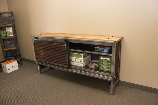 Custom Made Industrial Media Cabinet - 4 Foot