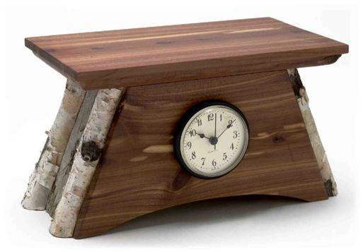 Custom Made Rustic Clock 1