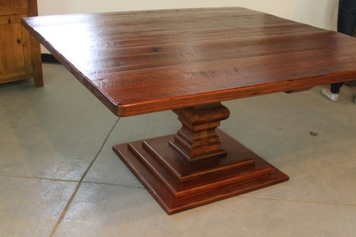 Hand Made 72 Quot Square Dining Table By Ecustomfinishes