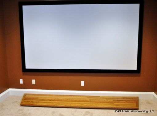 Custom Made Inlaid Home Theater Stage