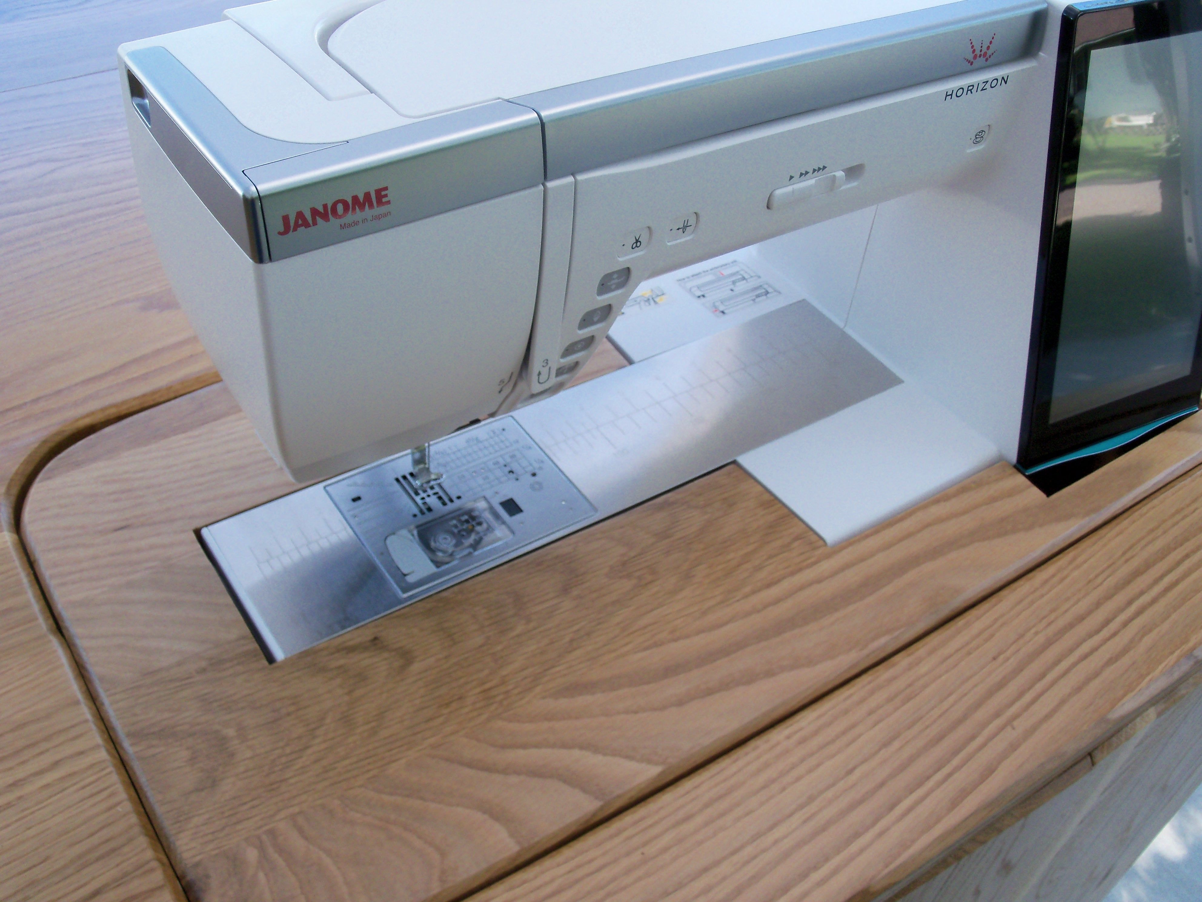 Custom Made Janome 15000 Dual Sewing Cabinet